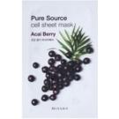 Missha Pure Source Zellschichtmaske mit revitalisierender Wirkung Acai Berry 21 g