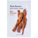 Missha Pure Source Zellschichtmaske mit stärkender Wirkung Red Ginseng 21 g