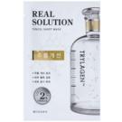 Missha Real Solution masca pentru celule cu efect antirid (with Trylagen) 25 g