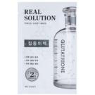 Missha Real Solution plátýnková maska s bělicím účinkem  25 g