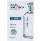 Missha Real Solution Zellschicht-Maske zur Reduzierung der Poren (with AHA, BHA) 25 g