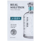 Missha Real Solution Cloth Facial Mask For Reducing Pores  25 g