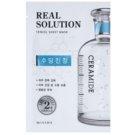 Missha Real Solution maska iz platna s pomirjajočim učinkom  25 g