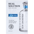 Missha Real Solution mascarilla hoja con efecto humectante (with Hyaluronic Acid) 25 g