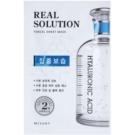 Missha Real Solution máscara em folha com efeito hidratante (with Hyaluronic Acid) 25 g