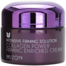 Mizon Intensive Firming Solution Collagen Power feszesítő krém a ráncok ellen (Firming Enriched Cream, 54 % Of Collagen Contained) 50 ml