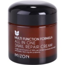 Mizon Multi Function Formula creme regenerador   desodorizante de secagem rápida (All In One Snail Repair Cream) 75 ml