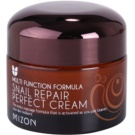 Mizon Multi Function Formula crema pentru ten  cu extract de melc 60% (Snail Repair Perfect Cream) 50 ml
