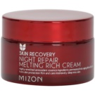 Mizon Skin Recovery nočna pomlajevalna krema za osvetlitev kože (Night Repair Melting Rich Cream) 50 ml