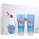 Moschino Fresh Couture ajándékszett III.  Eau de Toilette 100 ml + testápoló tej 100 ml + tusfürdő gél 100 ml