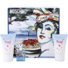 Moschino Funny! Gift Set IV. Eau De Toilette 4 ml + Body Gel 25 ml + Shower Gel 25 ml
