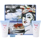 Moschino Funny! Gift Set IV. Eau De Toilette 4 ml + Body Gel 25 ml + Shower Gel 25 ml