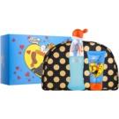 Moschino I Love Love dárková sada XII.  toaletní voda 50 ml + tělové mléko 50 ml + taška