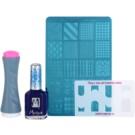 Moyra Nail Art Nail Stamping lote cosmético III.