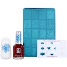 Moyra Nail Art Nail Stamping kosmetická sada V.