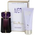Mugler Alien подаръчен комплект VIII. парфюмна вода 60 ml + мляко за тяло 100 ml