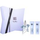 Mugler Angel ajándékszett XXXI.  Eau de Parfum 25 ml + testápoló tej 50 ml + tusfürdő gél 50 ml