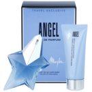 Mugler Angel lote de regalo X.  eau de parfum 50 ml + leche corporal 100 ml