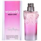 Mugler Womanity Aqua Chic 2013 Edition toaletní voda pro ženy 50 ml