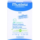 Mustela Bébé Bain sabonete suave com teor de cold cream (Gentle Soap With Cold Cream Nutri-Protective) 15 g