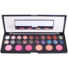 Naras Palette Make - Up Palette With Mirror 26 Color (Healthy Shimmer & Matt Eyeshadow Palette With Blush Mirror)