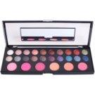 Naras Palette dekoratív kozmetikumok választéka tükörrel 26 Color