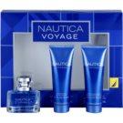 Nautica Voyage darilni set I. toaletna voda 30 ml + balzam za po britju 75 ml + gel za prhanje 75 ml