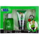NBA Boston Celtics Geschenkset I. Eau de Toilette 100 ml + Duschgel 150 ml + Schlüsselbund