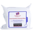 Neutrogena Face Care Cleansing Napkins For Dry To Sensitive Skin (Softens And Moisturises Skin) 25 pc