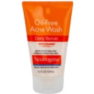 Neutrogena Oil-Free Acne Wash exfoliante limpiador anti-granos (Oil-Free) 125 ml