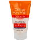 Neutrogena Oil-Free Acne Wash peeling oczyszczający  przeciw wypryskom  125 ml