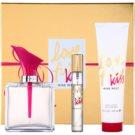 Nine West Love Fury Kiss lote de regalo eau de parfum 100 ml + eau de parfum 15 ml + leche corporal 100 ml