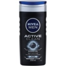 Nivea Men Active Clean żel pod prysznic dla mężczyzn (Body, Face and Hair) 250 ml