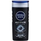 Nivea Men Active Clean gel de duche para homens  250 ml