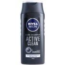 Nivea Men Active Clean šampon z aktivnim ogljem  250 ml