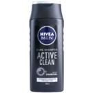 Nivea Men Active Clean sampon aktív faszénnel  250 ml