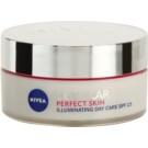 Nivea Cellular Perfect Skin élénkítő nappali krém SPF 15  50 ml