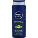 Nivea Men Energy душ гел  за лице, тяло и коса  500 мл.