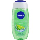 Nivea Lemongrass & Oil gel de ducha (Shower Gel) 250 ml