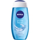 Nivea Pure Fresh gel de dus (Shower Gel Sea Minerals & Acquatic Scent) 250 ml