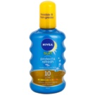 Nivea Sun Protect & Refresh unsichtbares Bräunungsspray SPF 10 (Transparent Spray) 200 ml
