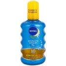 Nivea Sun Protect & Refresh Onzichtbare Bruiningsspray  SPF 10 (Transparent Spray) 200 ml
