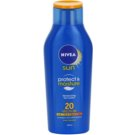 Nivea Sun Protect & Moisture leite solar SPF 20 (Moisturizing Sun Lotion Medium) 400 ml