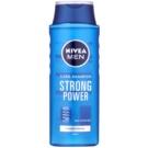 Nivea Men Strong Power szampon do włosów normalnych  400 ml