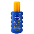 Nivea Sun Kids spray solar - color para niños SPF 20 (Sun-Spray) 200 ml
