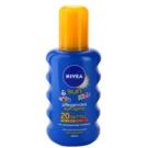 Nivea Sun Kids buntes Bräunungsspray für Kinder SPF 20  200 ml