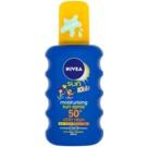 Nivea Sun Kids buntes Bräunungsspray für Kinder SPF 50+  200 ml