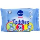 Nivea Baby Toddies čistiace utierky pre deti  60 Ks