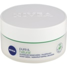 Nivea Visage Pure & Natural vlažilna dnevna krema za normalno do mešano kožo (Moisturizing Day Cream) 50 ml