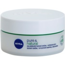 Nivea Visage Pure & Natural creme de dia calmante para pele seca (Soothing Day Cream) 50 ml